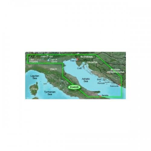 Garmin BlueChart kartica g3 Vision  VEU452S  (od Istre do Boke Kotorske)