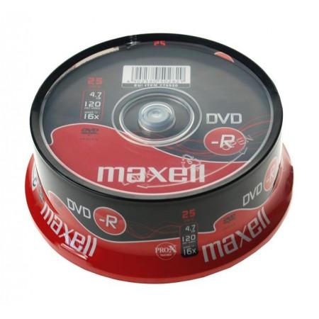 Maxell DVD-R 16x, 4.7GB 25 kom spindle