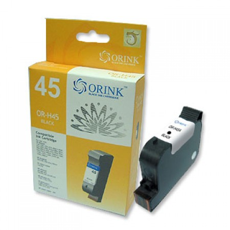 Orink tinta za HP, 51645AE, No.45, crna