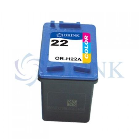 Orink tinta za HP, C9352CE, No.22XL, trobojna