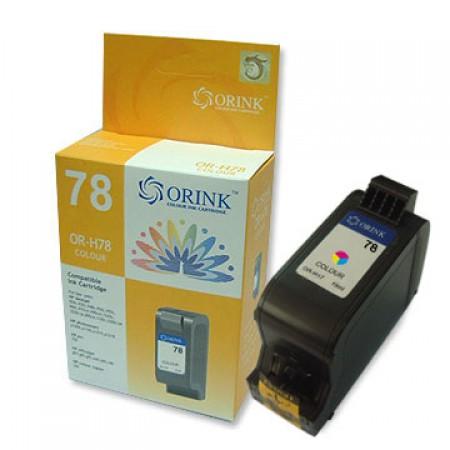 Orink tinta za HP, C6578DE, No.78, trobojna