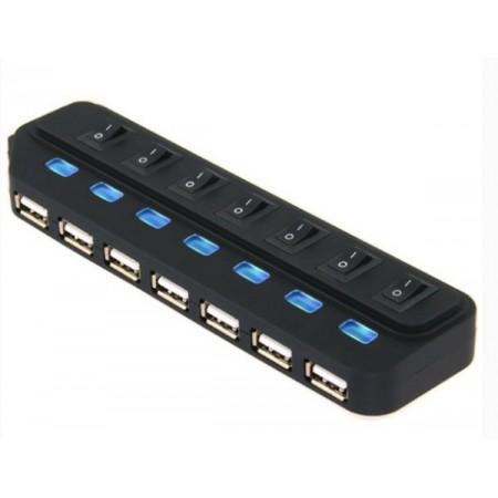 Asonic USB 3.0 7Port Hub + 5V napajanje (220V)
