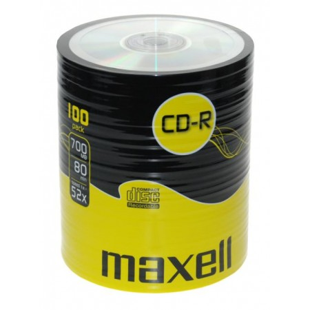 Maxell CD-R 52x, 700MB 100 kom shrink