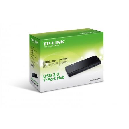 TP-Link UH700, 7-ports USB 3.0 hub