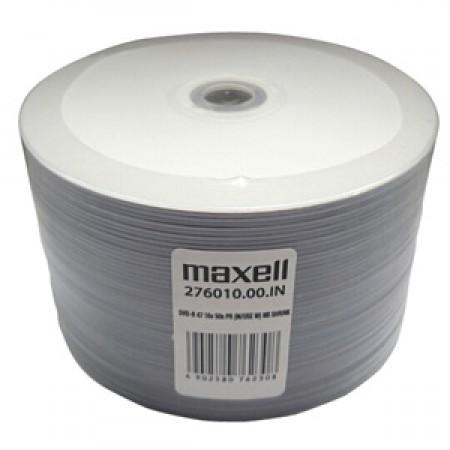 Maxell DVD-R 16x 4.7GB 50kom shrink printab