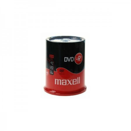 Maxell DVD-R 16x, 4.7GB 100 kom spindle