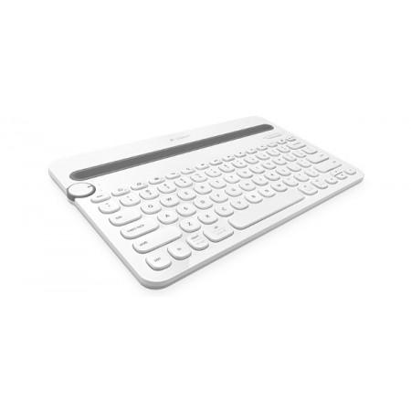 Logitech K480 Bluetooth tipkovnica, stalak, bijela
