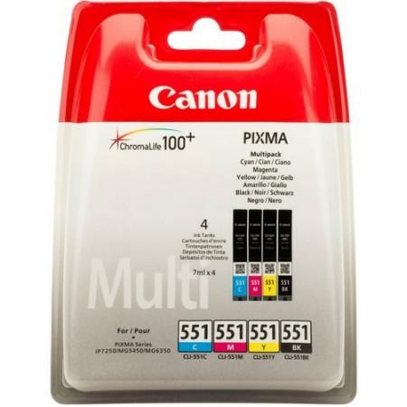 Canon tinta CLI-551 CMYB multipack