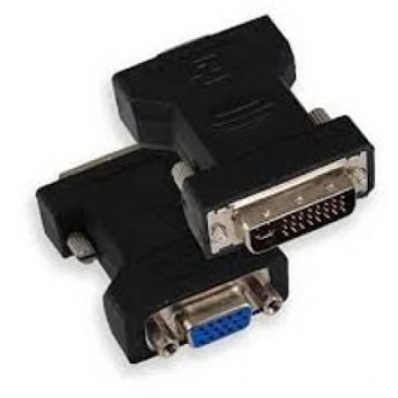 SBOX adapter DVI 24+5 M - VGA F 15 pin