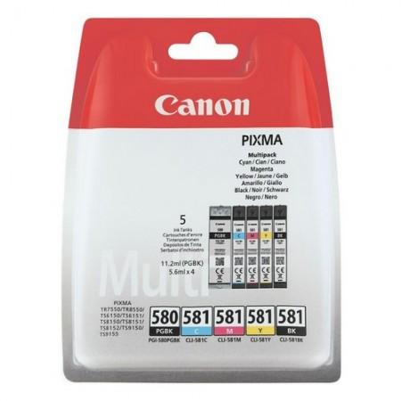 Canon tinta PGI-580 + CL-581 BCMY multipack