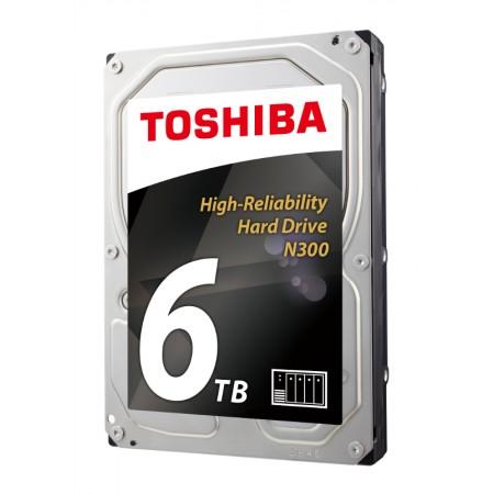 Toshiba N300 6TB, 128MB, 7200rpm, NAS