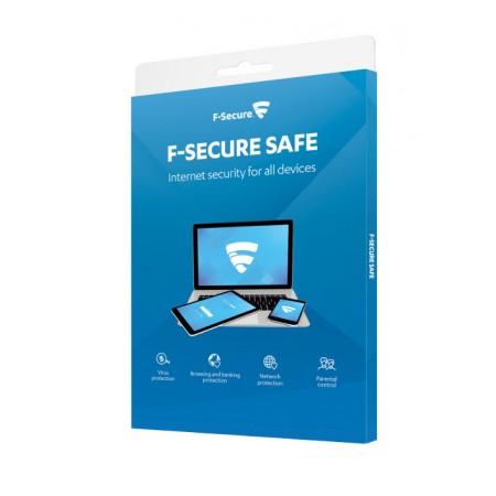 F-Secure SAFE licenca 6 mjeseci, 3 uređaja, paket