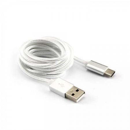 SBOX kabel USB 2.0 - USB tip C, bijeli,1.5m, 3 kom