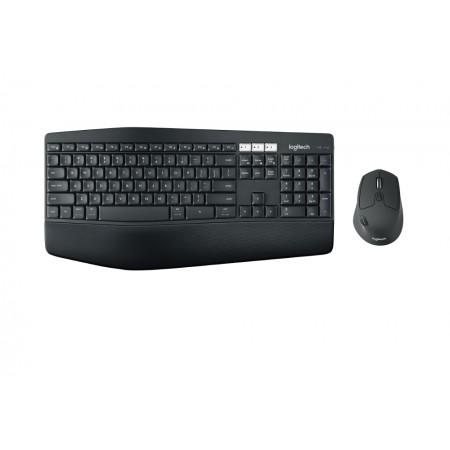 Logitech MK850 bežična tipkovnica i miš, crna
