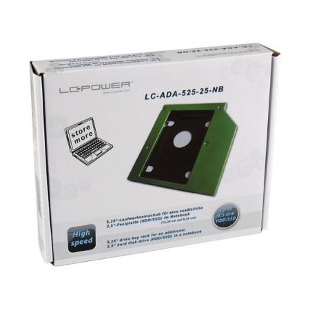 LC-Power ladica za notebook, SSD/HDD, Sata III