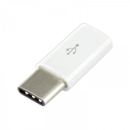 SBOX adapter micro USB ženski-type C muški bijeli