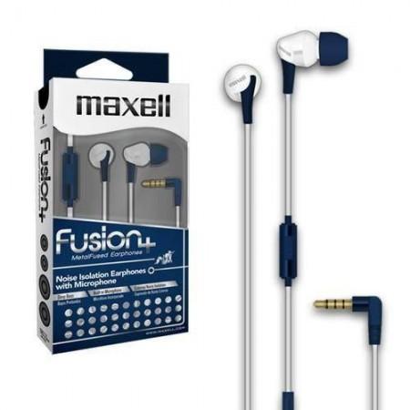 Maxell Fusion slušalice, plavo-bijele