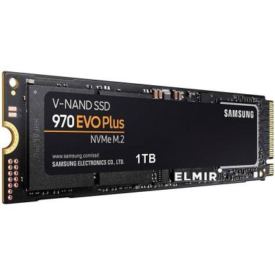SAMSUNG 970 EVO PLUS 1TB SSD, M.2 2280, NVMe, Read/Write: 3...