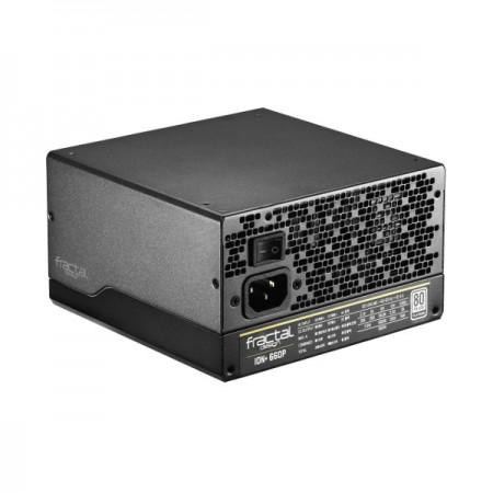 Fractal Ion+ 660W, 80+ Platinum, modularno
