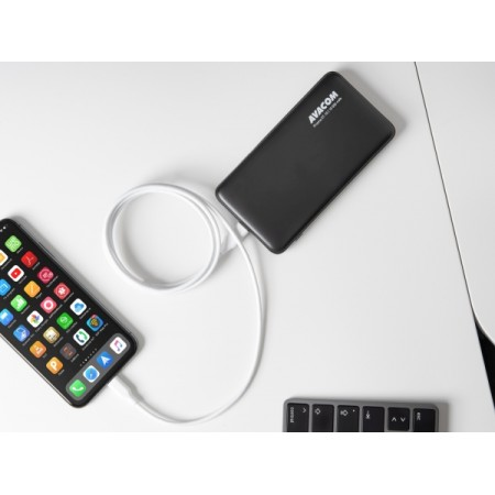 Avacom kabel MFIC-120W,USB C-Light.,MFI,120mm,bij.