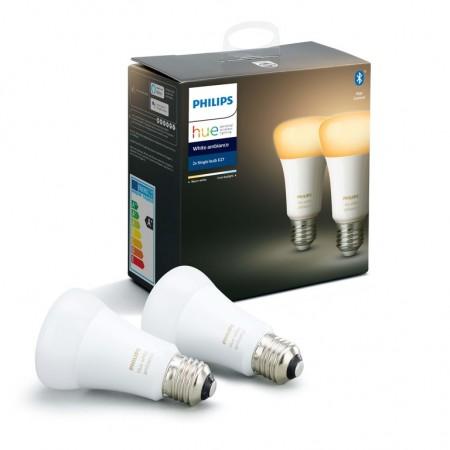 Philips HUE žarulja, E27, 2 komada,WA, bluetooth