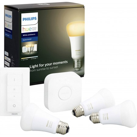 Philips HUE kit3, white ambiance, E27, bluetooth