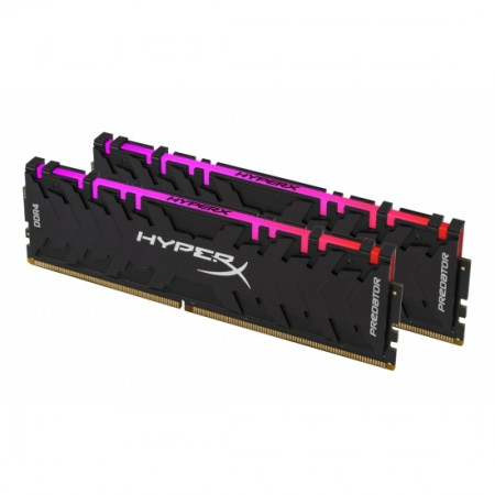 Kingston DDR4 Predator RGB, 16GB(2x 8GB), 3600MHz