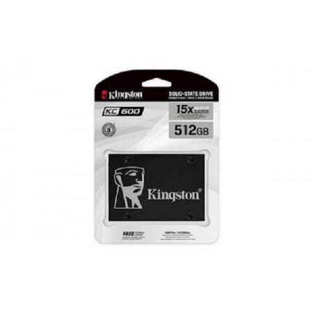 Kingston SSD KC600, R550/W520,512GB, 7mm, 2.5