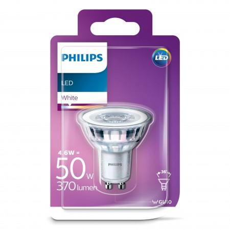 Philips LED žarulja, GU10, hladna, 3.5W, 36 st.
