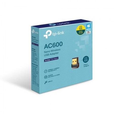 TP-Link Archer T2U Nano, AC600 WLAN USB adapter