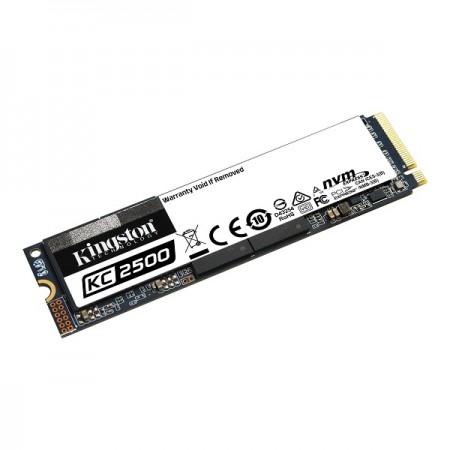 Kingston KC2500 NVMe 500GB,R3500/W2500, M.2 2280