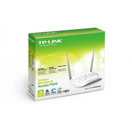 TP-Link TL-WA801N, 300 Mbps WLAN AP, 2 x 4dBi