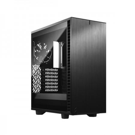 Fractal Define 7 Compact TG Light, crno, bez nap.