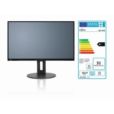 Fujitsu B27-9 TS DP, HDMI, VGA, 4x USB3.1, QHD