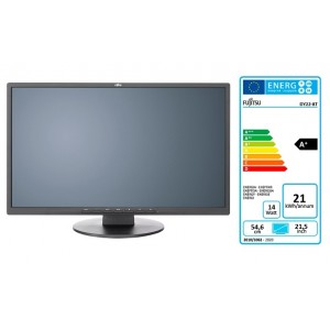 Fujitsu E22-8 TS Pro DP, DVI-D, VGA, tilt, zvu, 5y