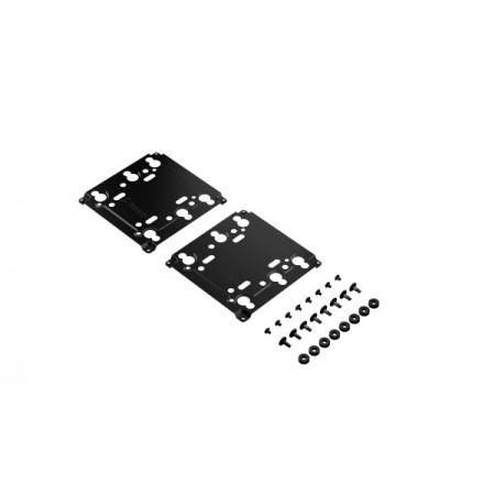 Fractal Universal Multi-bracket - Type A, crno, 2p