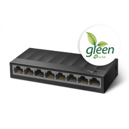 TP-Link LS1008G, 8-Port Gigabit Desktop Switch
