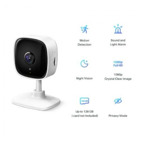 TP-Link Tapo C100 Fixed Home Security WiFi