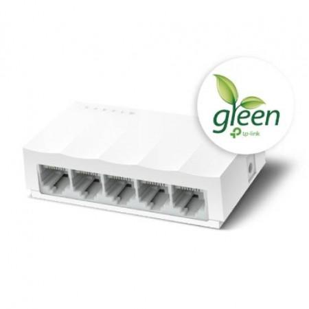 TP-Link LS1005, 5-port 10/100 switch,plastično