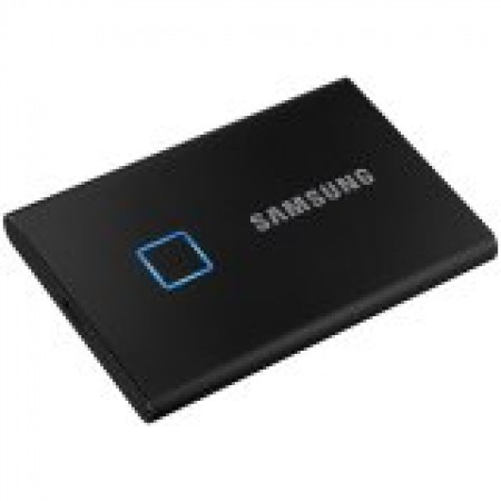 SAMSUNG T7 Touch 500GB External SSD, Read/Write: 1050/1000 ...
