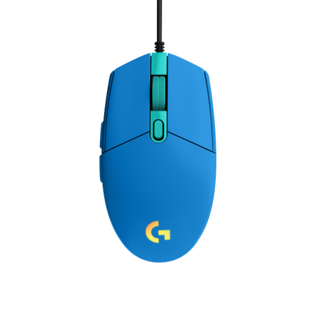 Logitech G102 LIGHTSYNC, plavi