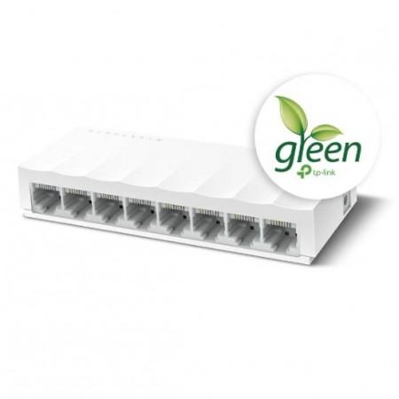 TP-Link LS1008, 8-port 10/100 switch,plastično