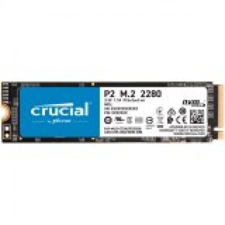 Crucial SSD 1000GB P2 M.2 NVMe PCIEx4 80mm Micron 3D NAND  ...