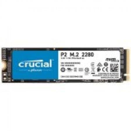 CRUCIAL P2 250GB SSD, M.2 2280, PCIe Gen3 x4, Read/Write: 2...