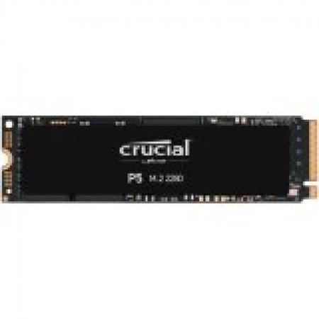 Crucial SSD 500GB P5 M.2 NVMe PCIEx4 80mm Micron 3D NAND  3...