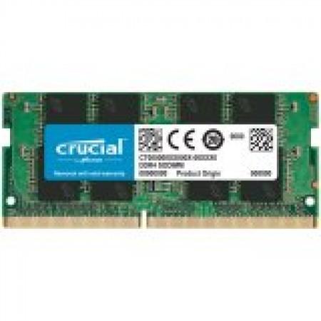 CRUCIAL 16GB DDR4-2666 SODIMM CL19 (8Gbit/16Gbit)