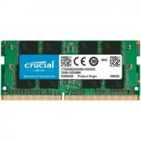 CRUCIAL 16GB DDR4-3200 SODIMM CL22 (8Gbit/16Gbit)