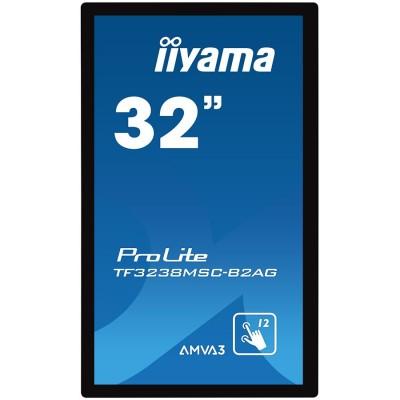 """IIYAMA Monitor 32"""" PCAP Anti-glare Bezel Free 12-Points Tou..."""