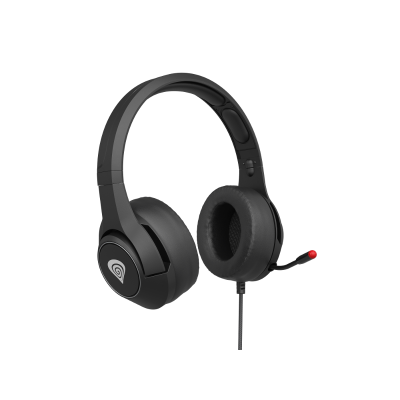 Genesis Argon 600, slušalice s mikrofonom, crna