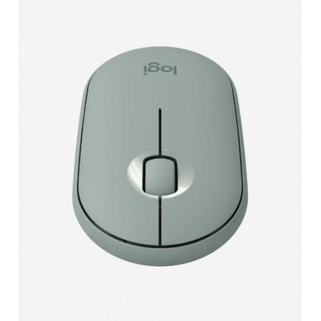 Logitech Pebble M350, bežični miš, zelena